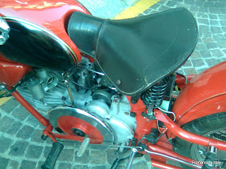 Old Motor Guzzi Seat