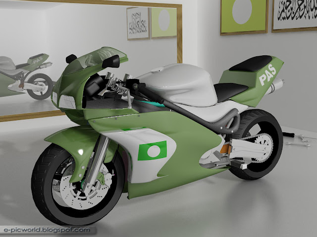 3D Motorbike - PAS Superbike 1