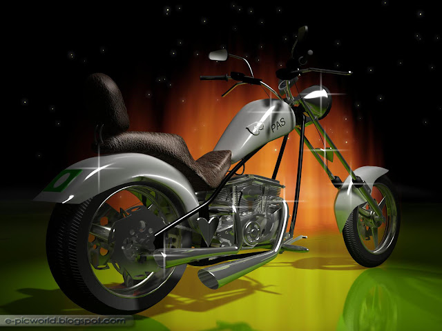3d chopper wallpaper