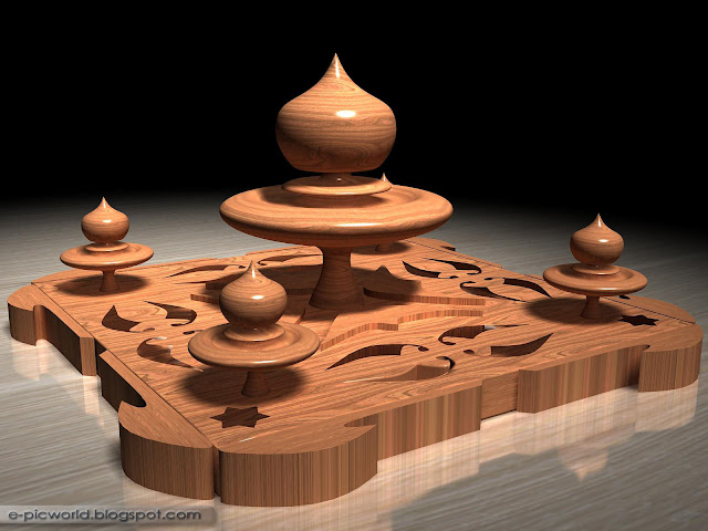 3d wood sculptures 2