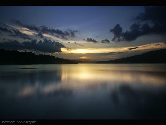 Sunset di Tasik Kenyir