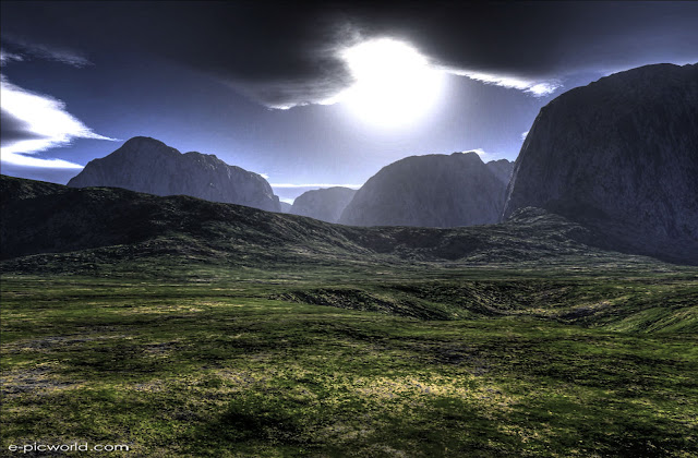 3d landscapes hdr wallpaper 1