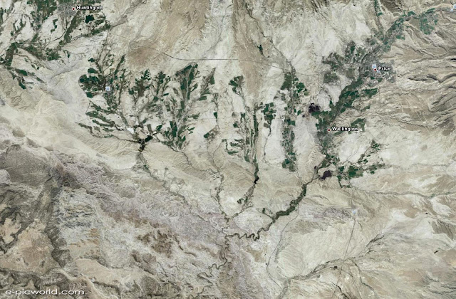 google earth satellite image