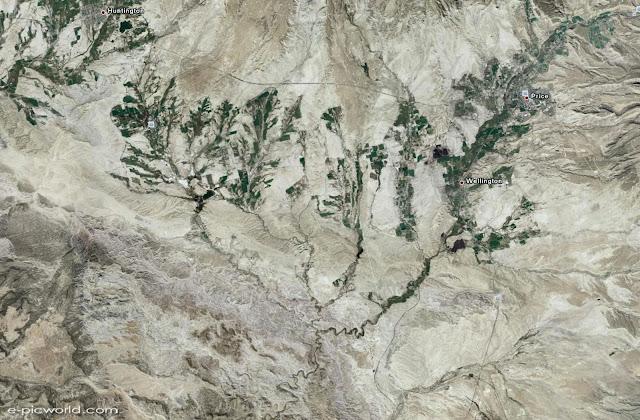 google earth satellite image