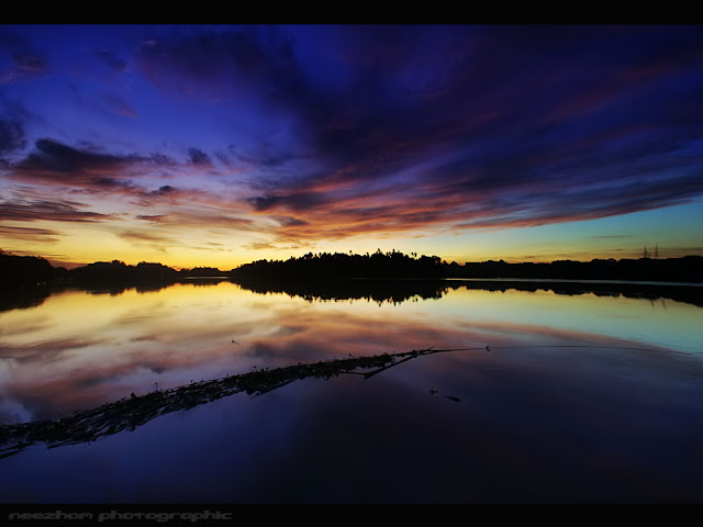 waktu subuh di kampung teluk pasu