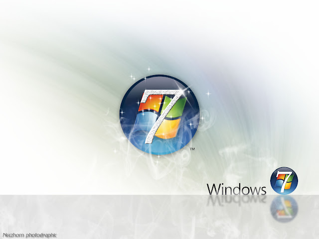 Windows 7 wallpaper - Glittering seven