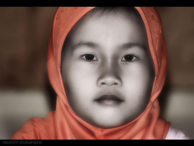 malaysian kids portrait