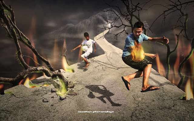 soccer mania photo manipulation