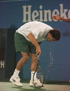 Tennis Coach - Semaine 25 - Washington Sampras+vomiting