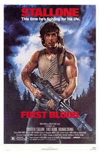 Rambo 1 Poster - First Blood