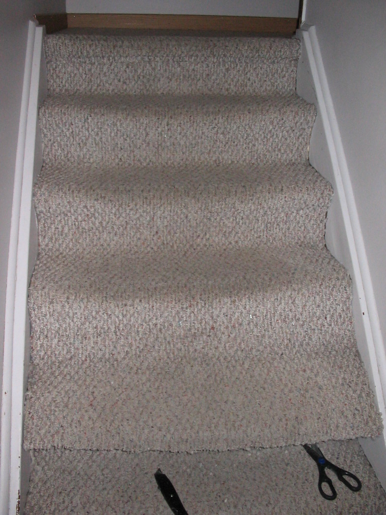 Becoming bob vila project two the stairs for What is the best carpet for stairs high traffic