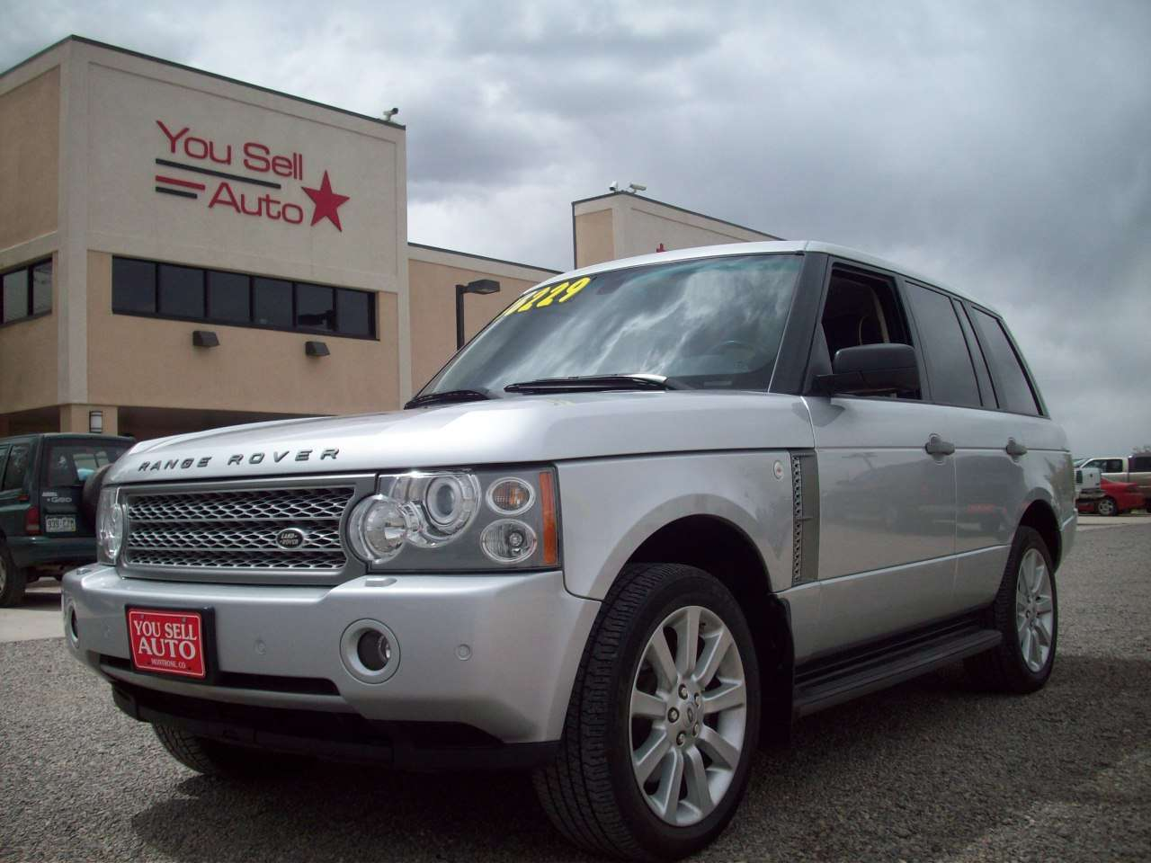 2006 land rover range rover hse supercharged 4x4 w dvd. Black Bedroom Furniture Sets. Home Design Ideas