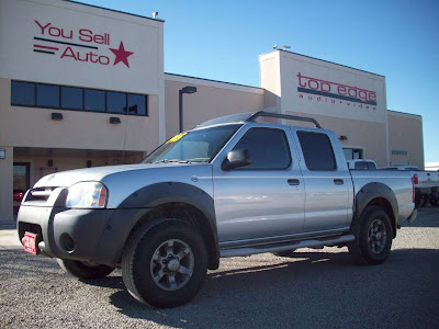 2001 Nissan Frontier XE 4 Door Pickup @ $6,995