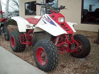 2000 Kawasaki Mojave You Sell Auto