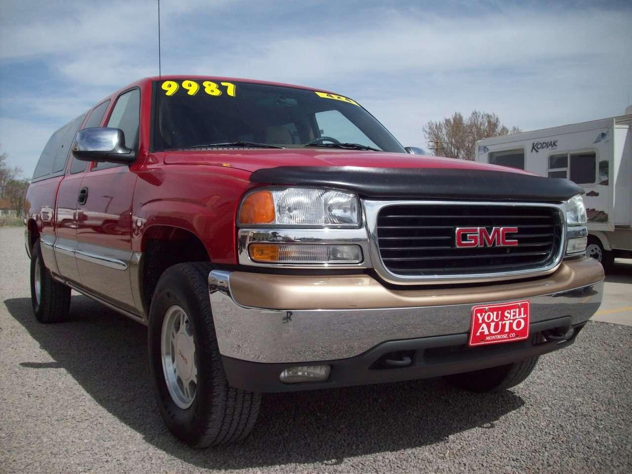 1999 Gmc Sierra 1500 Slt 4x4 Truck Sold You Sell Auto