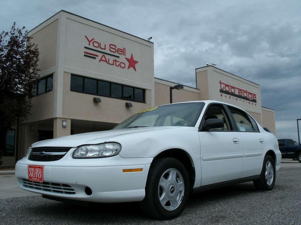 2001 CHEVROLET MALIBU @ $4 350 You Sell Auto #456D86