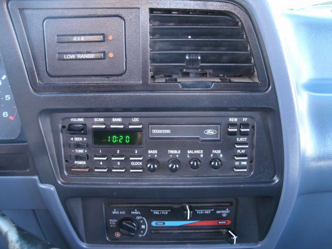 Replacing radio 1992 ford explorer