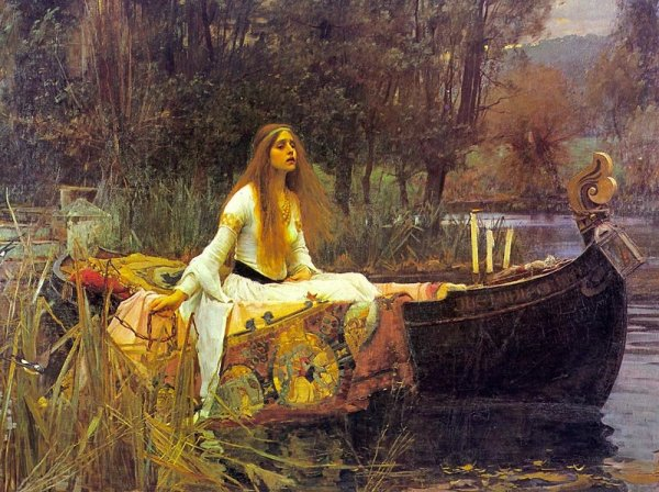 The Lady of Shalott (1842 Version)