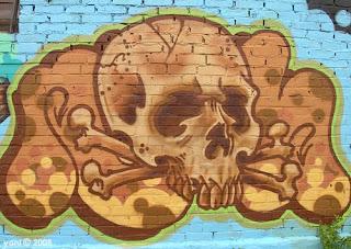 brown skull