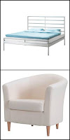 heimdal bed and tullsta chair