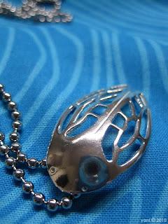 my cicada pendant