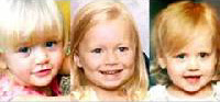 Karen Matusiewicz de Middletown, Del.; Deonna Shipman de Liverpool, N.Y.; y Celestia Langille de Taylor, Pa. como posibles Baby Grace.