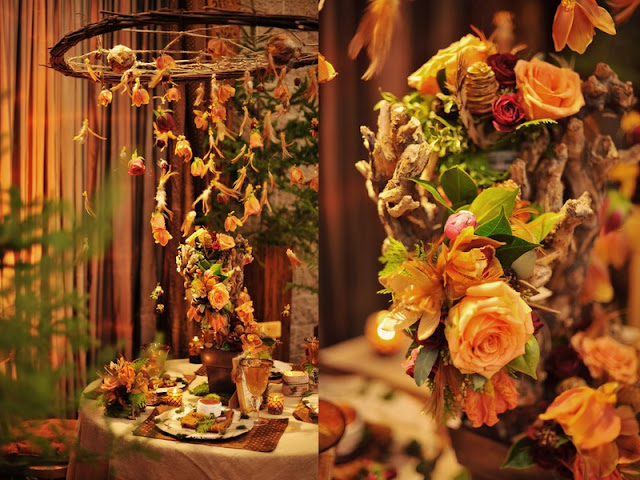 Nature Inspired Decor by Eventdecorator.com
