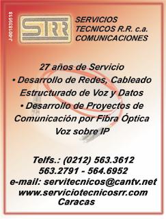 SERVICIOS T�CNICOS R.R. COMUNICACIONES, C.A.. en Paginas Amarillas tu guia Comercial