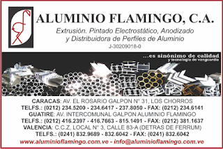 ALUMINIO FLAMINGO, C.A. en Paginas Amarillas tu guia Comercial