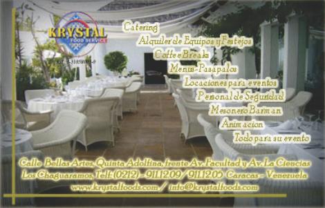 KRYSTAL FOODS, C.A. en Paginas Amarillas tu guia Comercial