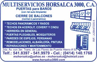 MULTISERVICIOS HORSALCA 3000, C.A. en Paginas Amarillas tu guia Comercial