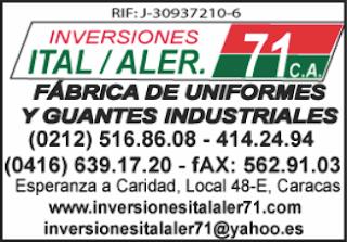 INVERSIONES ITAL ALER 71, C.A. en Paginas Amarillas tu guia Comercial