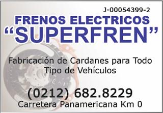 FRENOS ELECTRICOS SUPERFREN en Paginas Amarillas tu guia Comercial