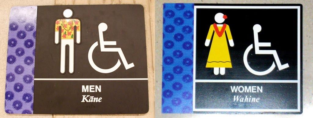Panneau Toilettes Propres