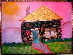 quilt art post card