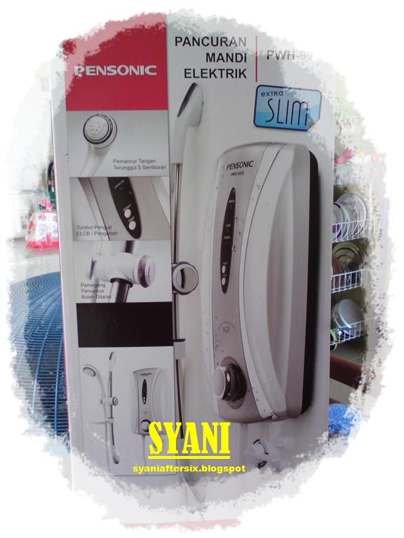 ♥SYANI♥: Menghabiskan duit laki | Water heater