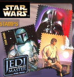 USPS Star War Stamps
