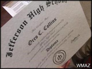Oreo's Diploma