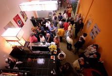Imagens do hall de entrada