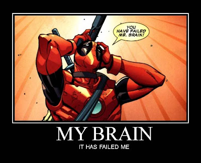 My Brain Demotivational Poster