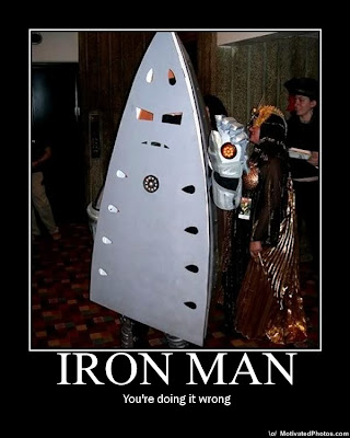 Iron Man Demotivational Poster