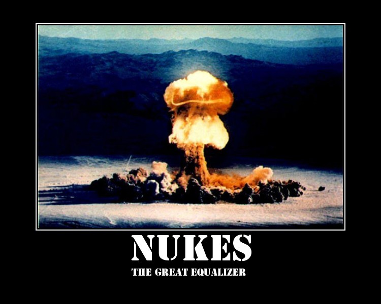 Nukes demotivational poster 2
