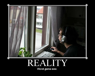 Reality Demotivational Poster