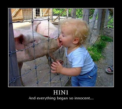 H1N1 Demotivational Poster