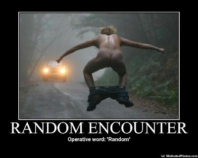 Random Encounter Demotivational Poster