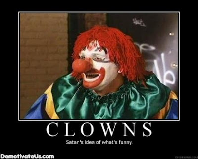 Clowns Demotivational Poster