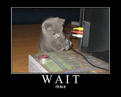 Wait Demotivational Poster