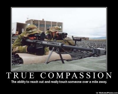 True Compassion Demotivational Poster