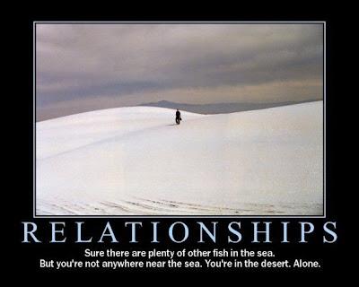 Relationships Demotivational Poster