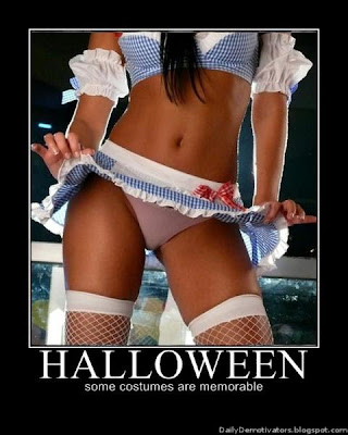 Halloween Costumes Demotivational Poster